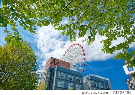 港北新市鎮中心北鮮綠色摩天輪 73407496
