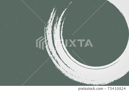Illustration material Background material Japanese style Japanese paper Brush calligraphy vector 73410824