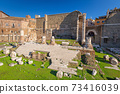 Ruins of the Trajan Forum in Rome, Italy 73416039