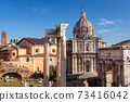 Ruins of the Roman Forum in Rome, Italy 73416042