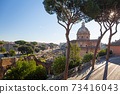 Ruins of the Roman Forum in Rome, Italy 73416043