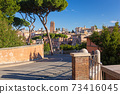 Ruins of the Roman Forum in Rome, Italy 73416045