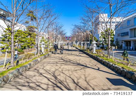 [가나가와 현] 가마쿠라 정초 3 일간의 段葛 73419137