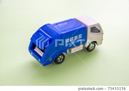 垃圾收集車的迷你車 73433156