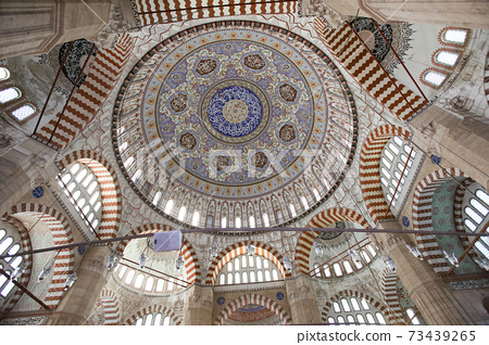Ceiling dome of Turkish Camii 73439265