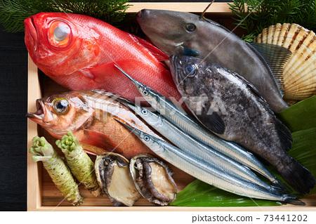 什錦鮮魚 73441202