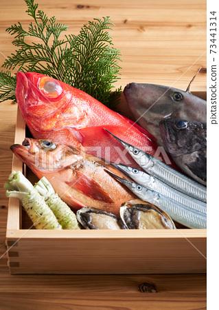 什錦鮮魚 73441314