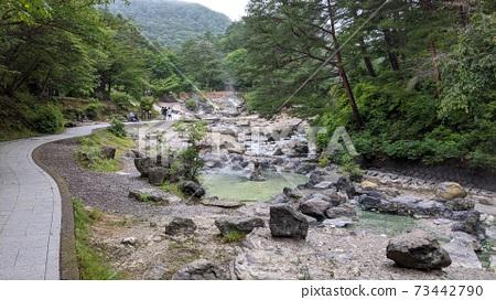 Kawahara Park in the west of Kusatsu Onsen 73442790