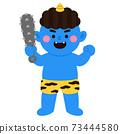 藍色惡魔和金條 73444580