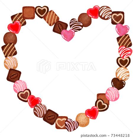 巧克力心 73448218