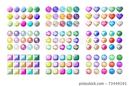 15種顏色x 9種各種珠寶套裝 73449191
