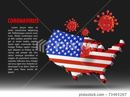 ok-Covid - 26-USA Map 73465267