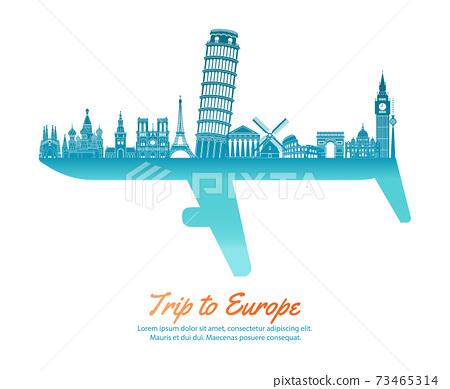 Plane-Eurpoe 73465314