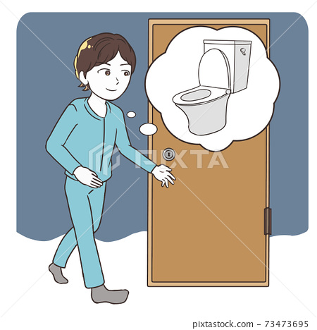男人,半夜上廁所,帶西式廁所 73473695
