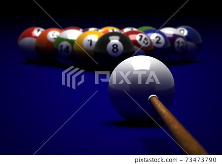 Target to Billiard Balls 73473790