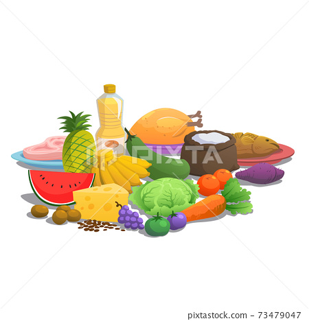 Nutrition principles of food to eat. 73479047