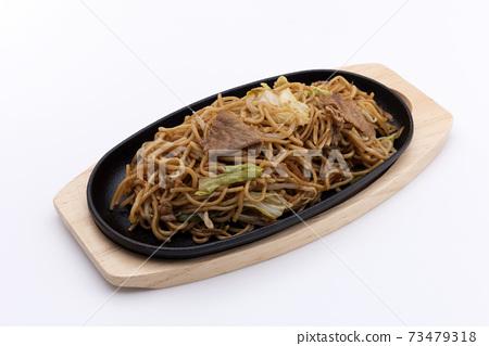 Fried noodles 73479318
