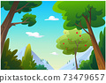 landscape forest daytime so beautiful. 73479657