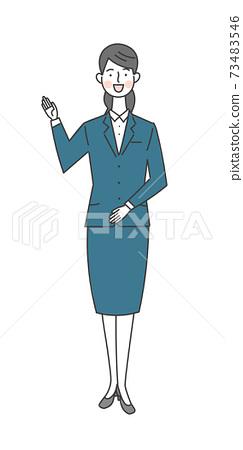 一個西裝的女人 73483546