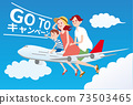 乘飛機旅行的家庭_前往競選2 73503465