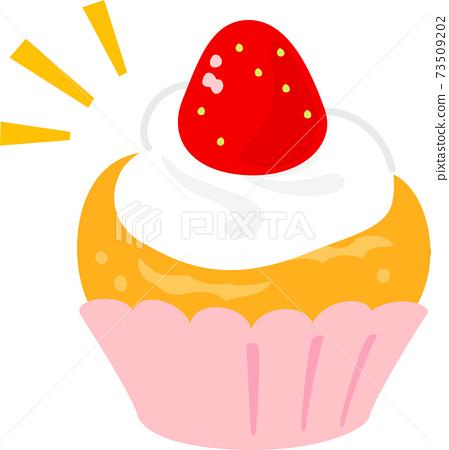簡單的草莓蛋糕 73509202
