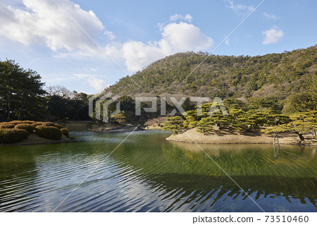 香川縣高松市的栗林公園 73510460