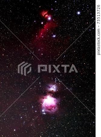 獵戶座的發散星雲 73513726