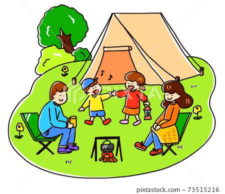 家庭露營 73515216