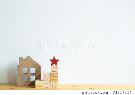 House model, Ranking block. Real estate, buy a house, apartment subscription concept 73517214
