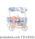 Flower wheel, covered 73518391