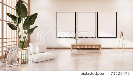 indoor empty room japan style. 3D rendering 73529479