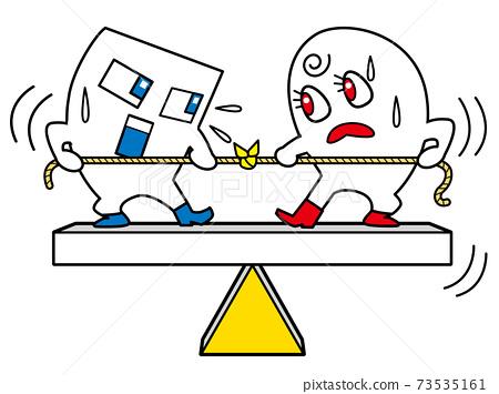 雙邊衝突平衡繫繩 73535161
