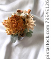 Dried flower corsage 73545126