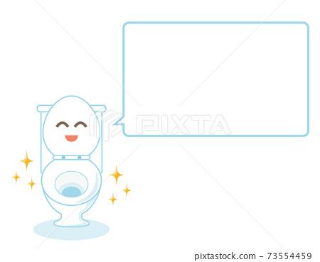 廁所字符矢量圖馬桶 73554459