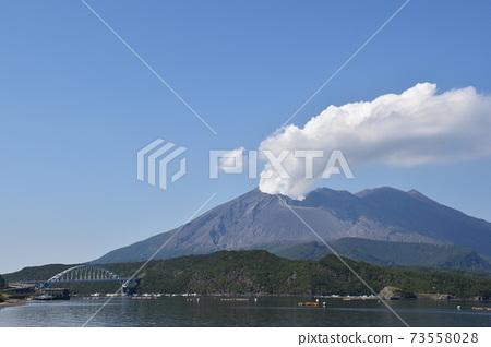 火山和橋樑 73558028
