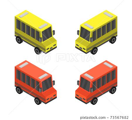 isometric city bus 73567682
