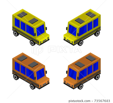 isometric city bus 73567683