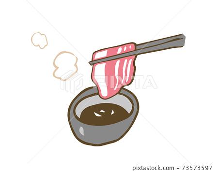 戴上肉筷子 73573597