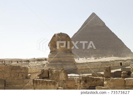 金字塔和獅身人面像 73573627