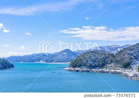 교토 이네 만 풍경 (겨울) 73576571