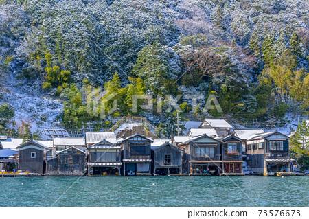 교토 이네의 舟屋 (겨울) 73576673