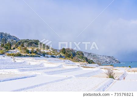 교토, 계단식 논, 겨울 73576821