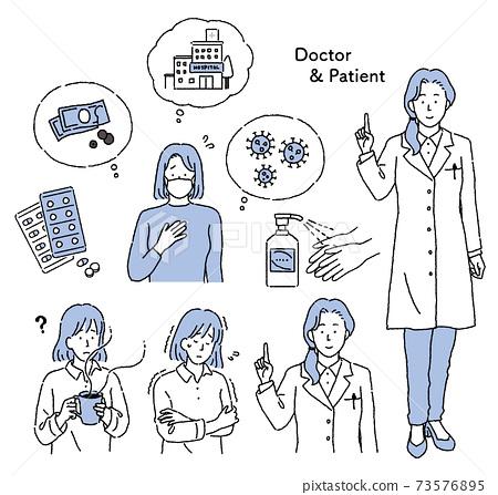 女大夫 女醫生 醫生 73576895