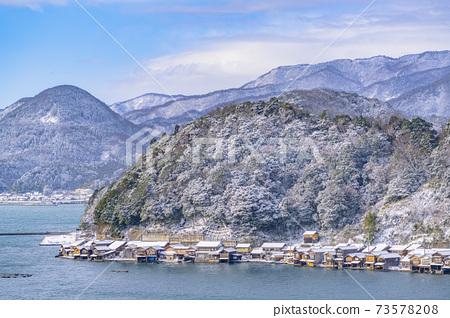 교토 이네 만 풍경 (겨울) 73578208