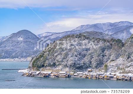 교토 이네 만 풍경 (겨울) 73578209