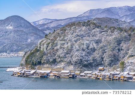 교토 이네 만 풍경 (겨울) 73578212