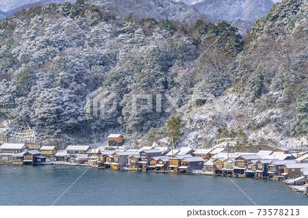 교토 이네 만 풍경 (겨울) 73578213