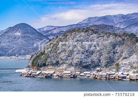 교토 이네 만 풍경 (겨울) 73578218