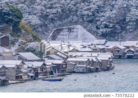 교토 이네 만 풍경 (겨울) 73578222