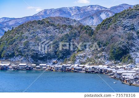 교토 이네 만 풍경 (겨울) 73578316